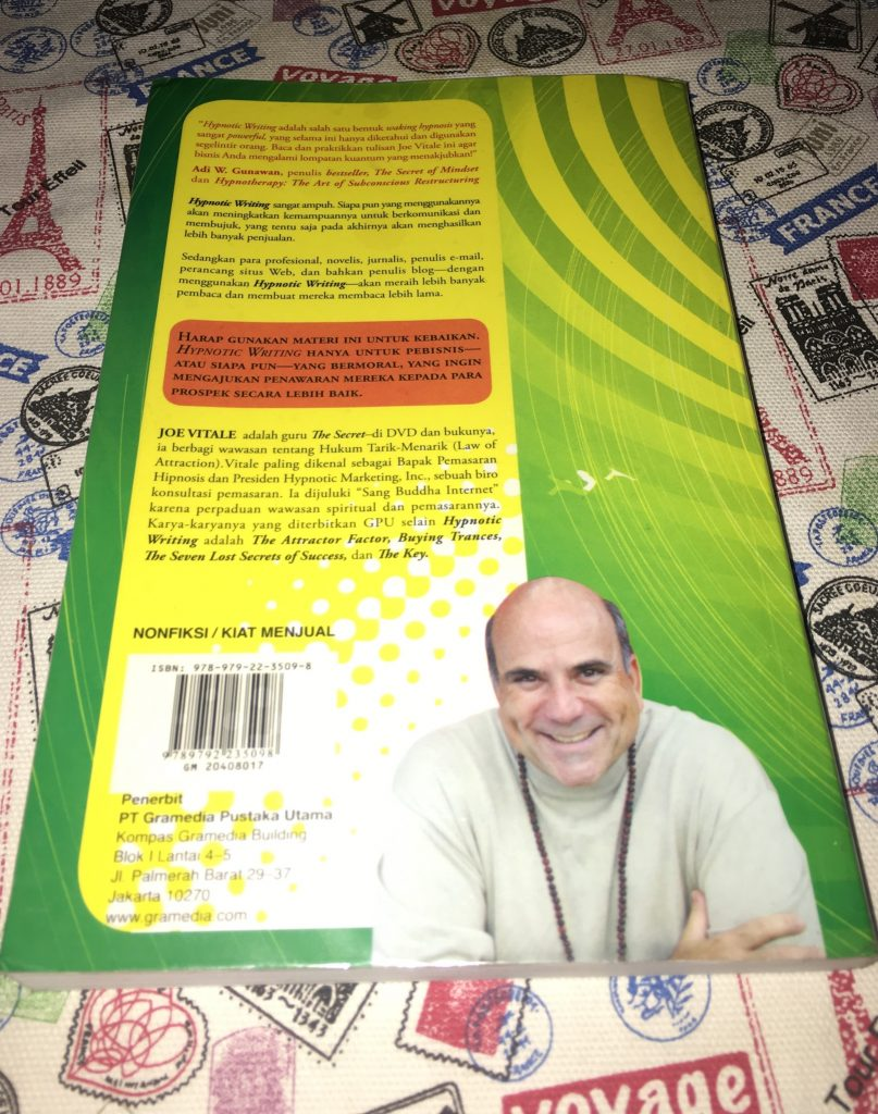 Resensi Buku Hypnotic Writing by Joe Vitale
